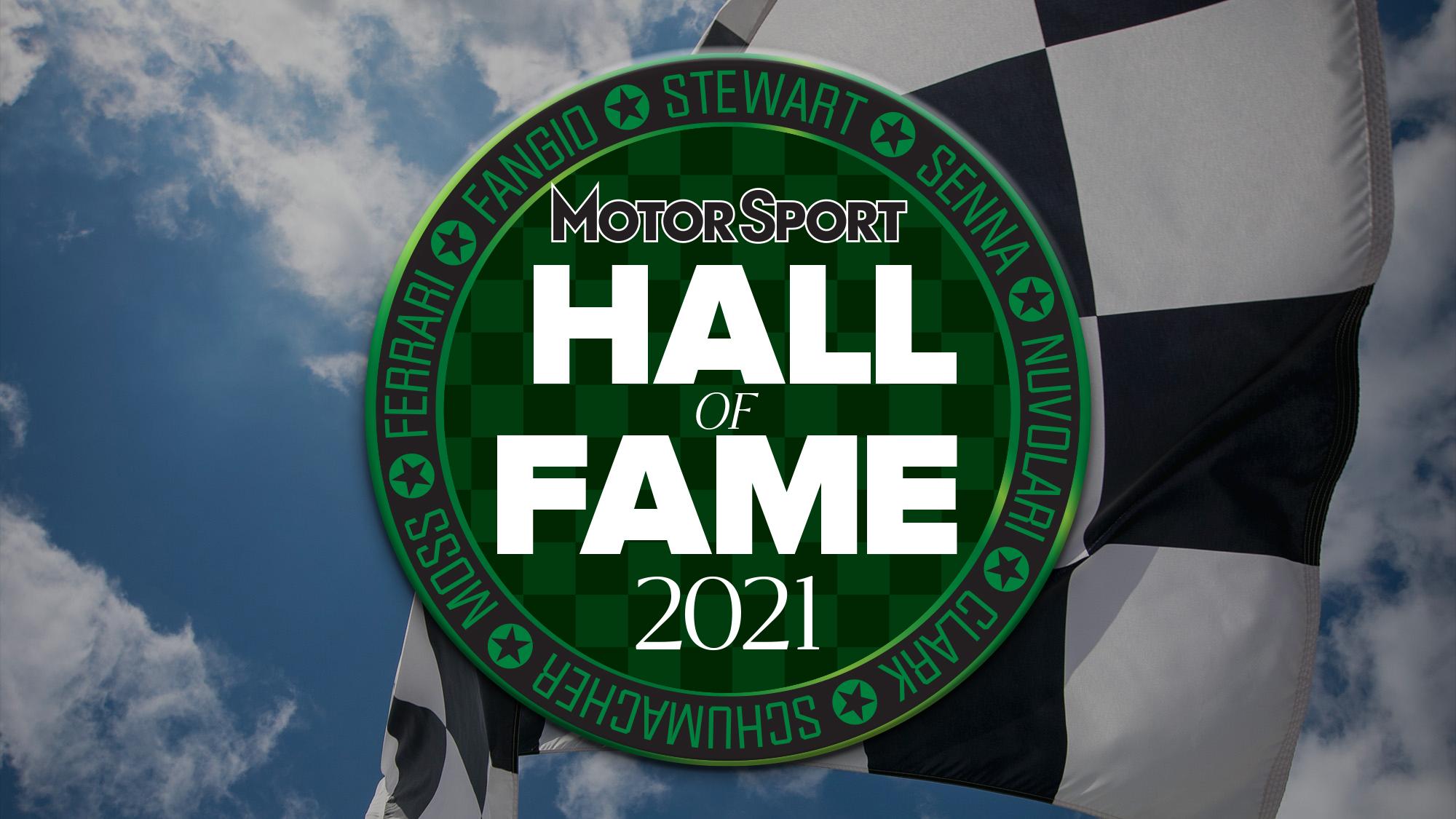 Hall of Fame 2021 header