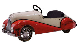 1950s pedal car