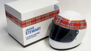 Jackie Stewart scale helmet model