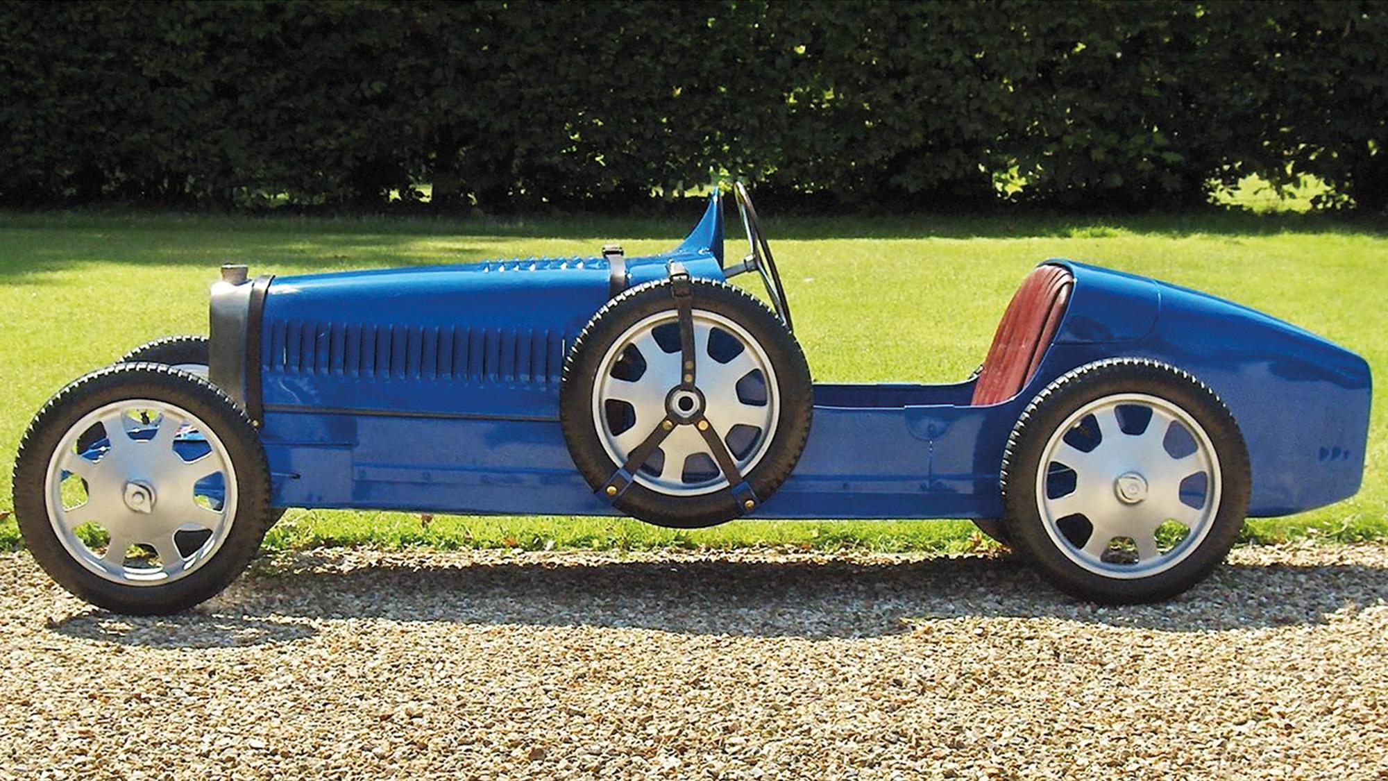 Bugatti Baby half sized pedal car