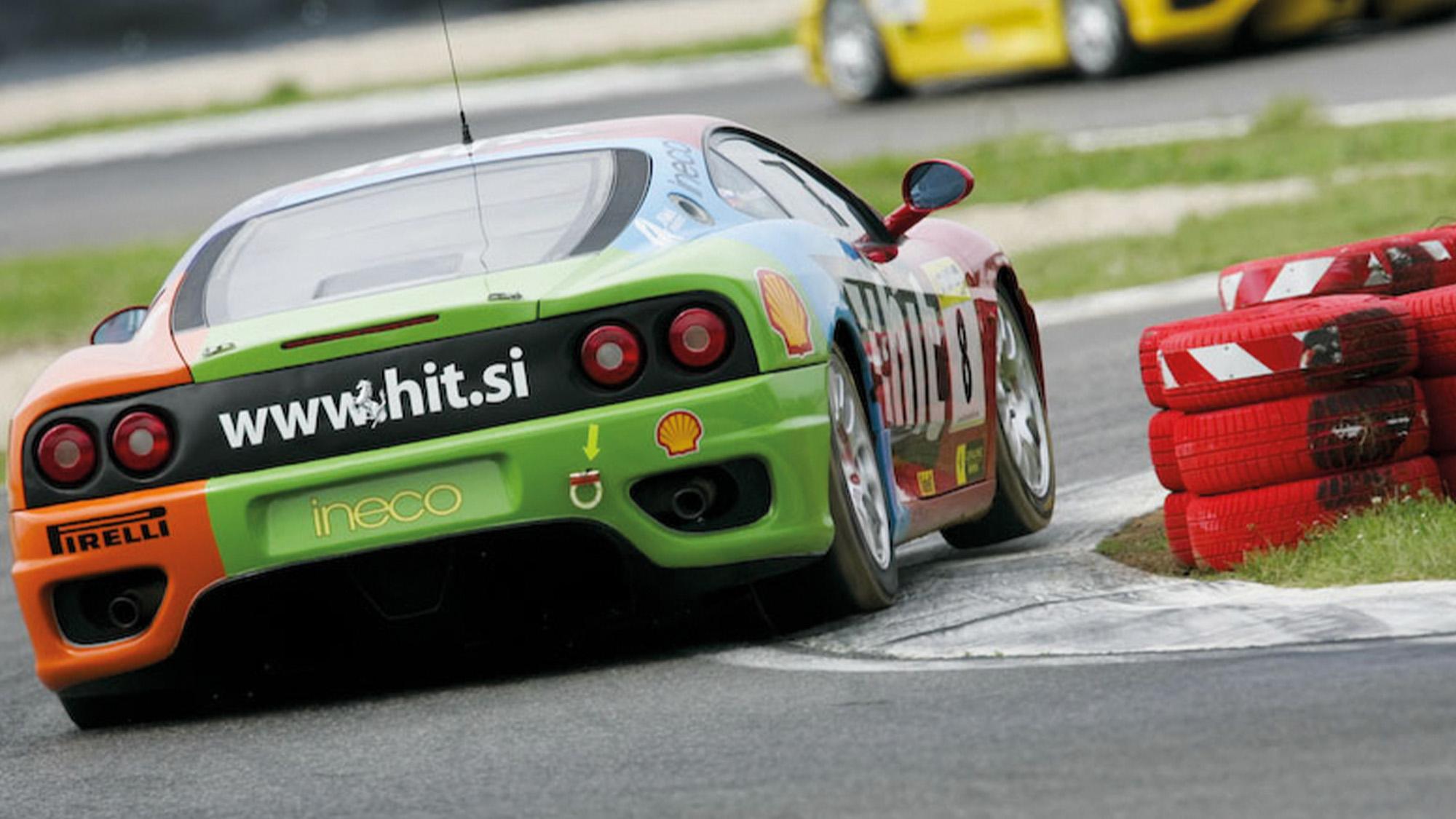 Ferrari 360 in Inter Coppa Shell championship