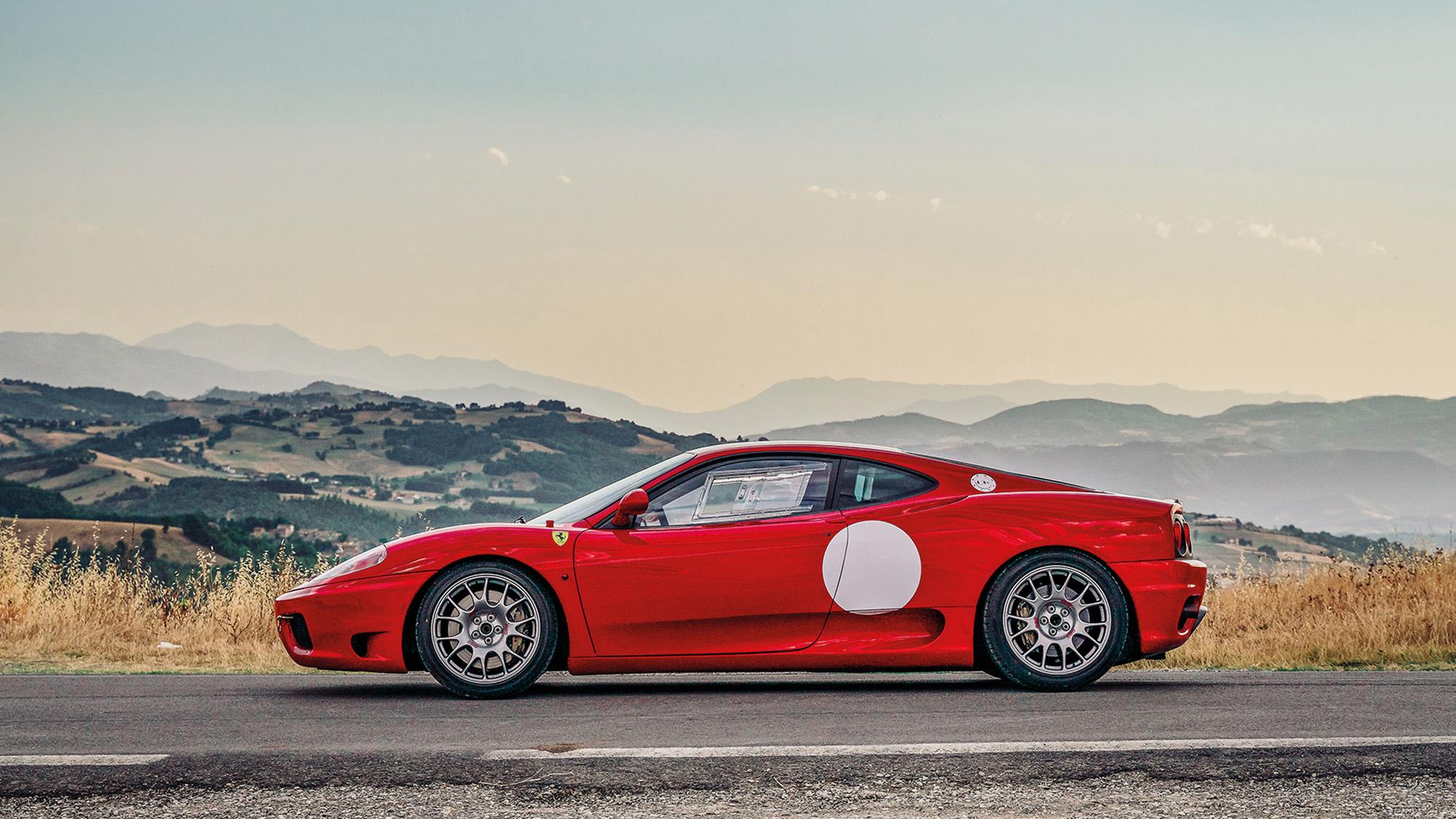 Ferrari 360 Modena side