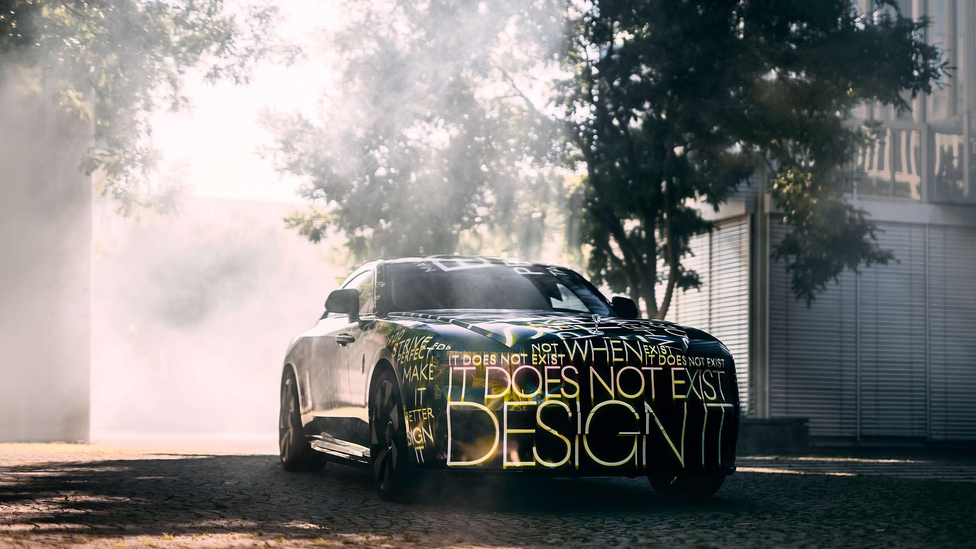 Rolls Royce Spectre ftq teaser