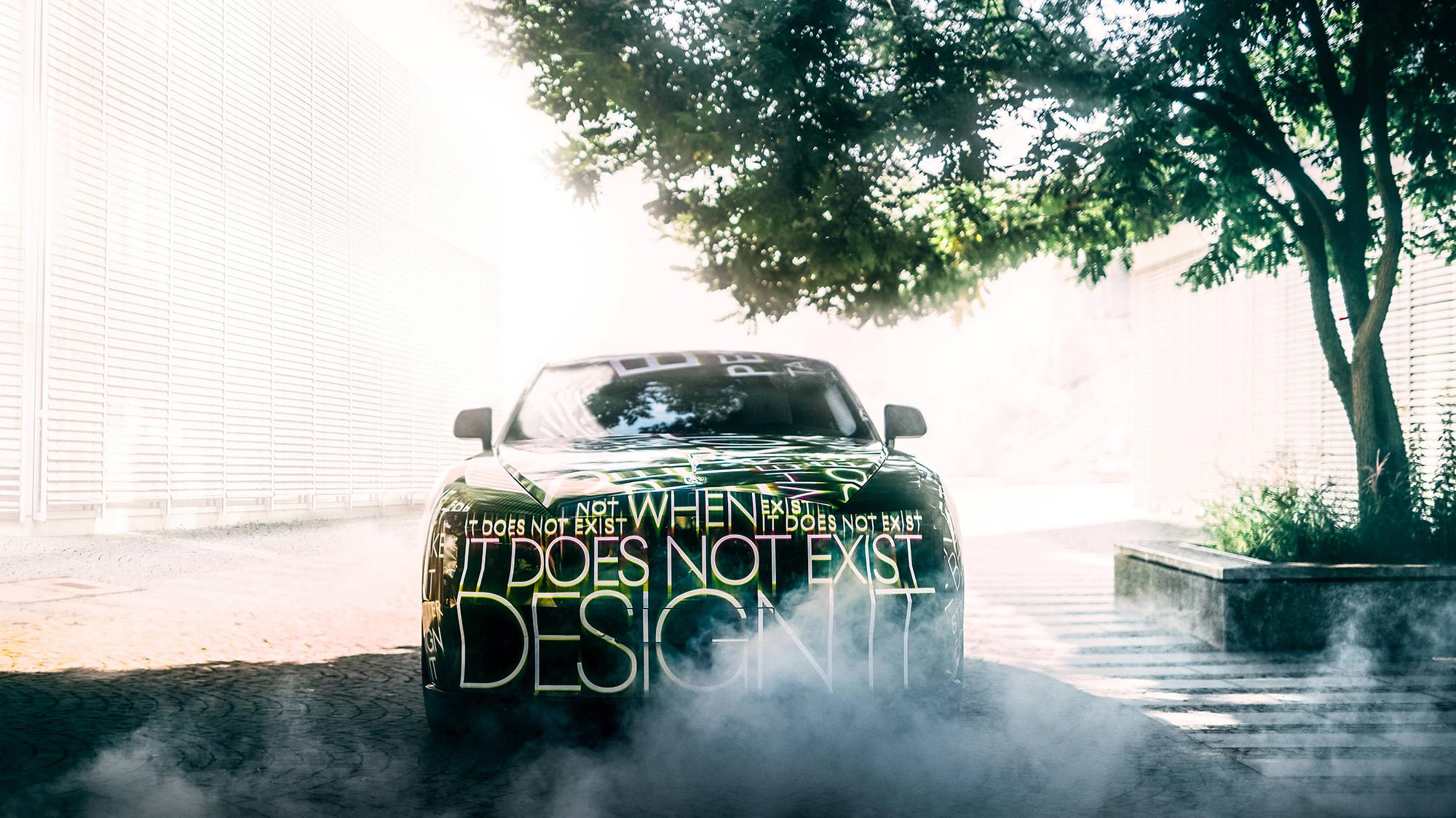 Rolls Royce Spectre teaser front