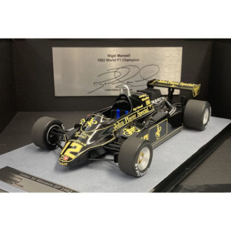 Product image for Nigel Mansell signed 1/18 Lotus 91 | 1982 Monaco GP