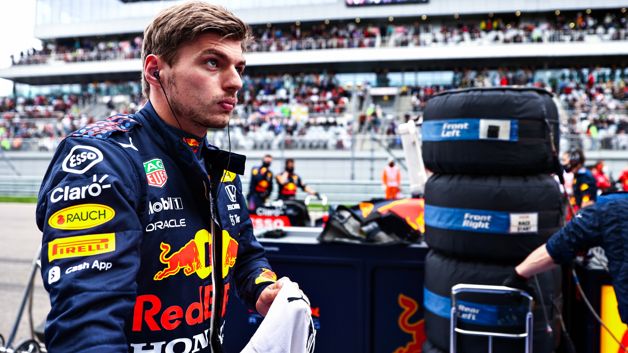 Max Verstappen, 2021 Russian GP