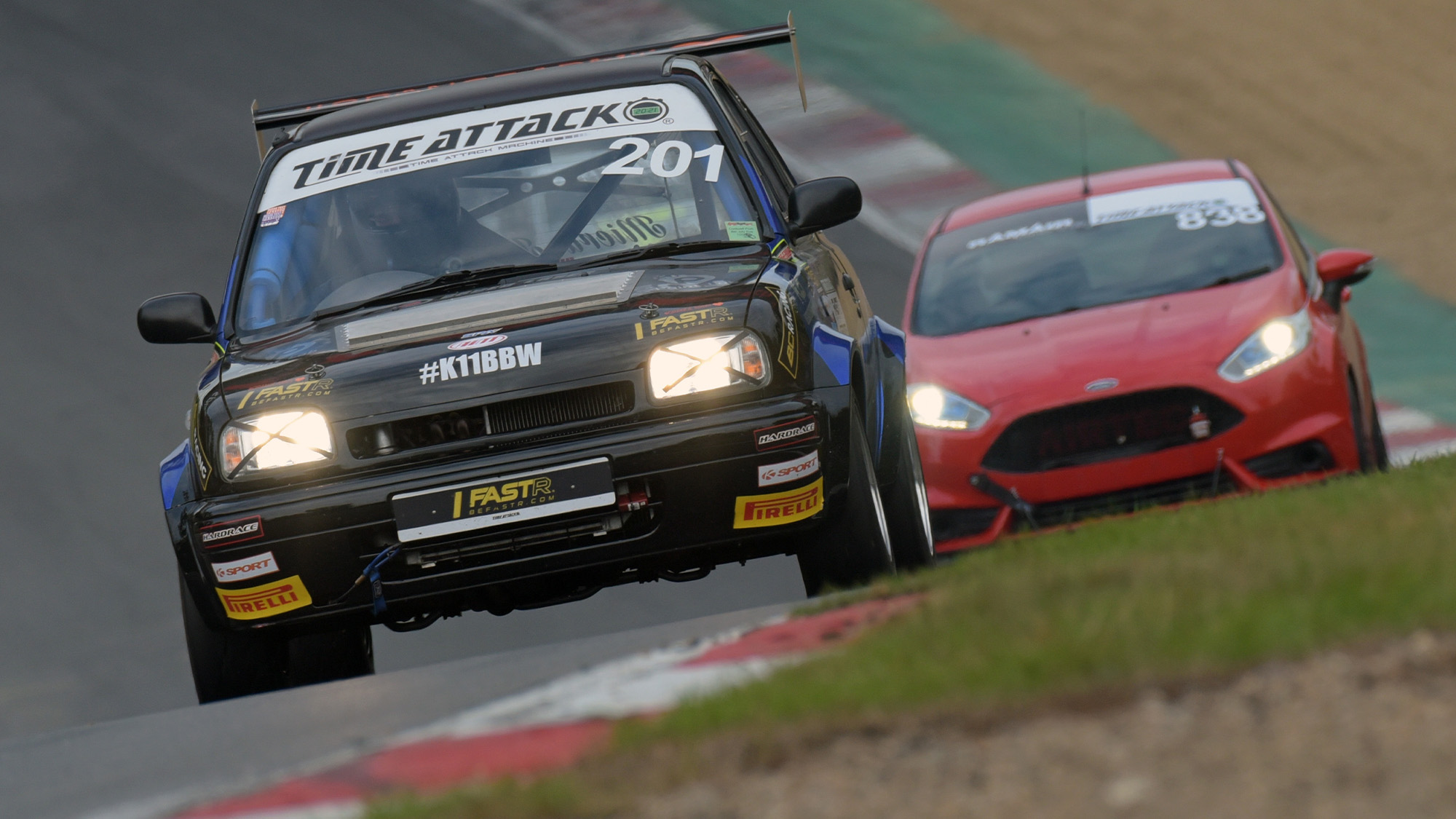 Eden Young leads Harry Lee in 2021 Brands Hatch Time Attack