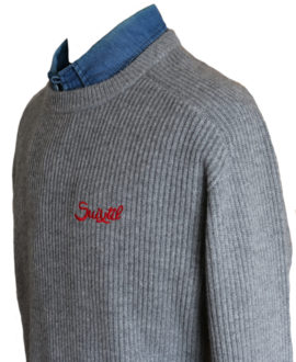 Product image for Raticosa | Knitted Sweater | Suixtil (Grey)