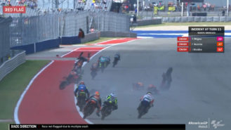 Moto3: 'the situation is out completely of control'