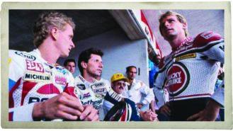 When MotoGP riders strike!