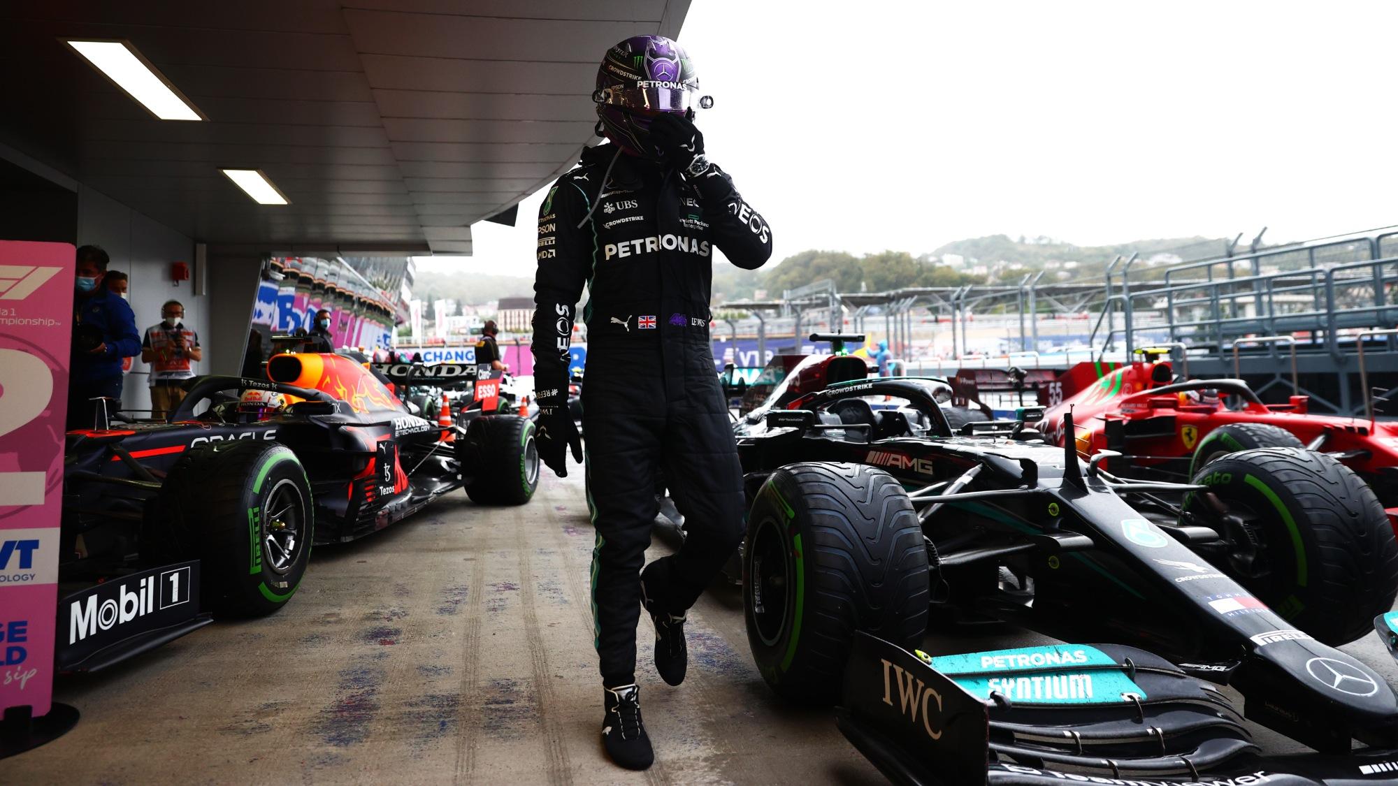 Lewis Hamilton, 2021 Russian GP