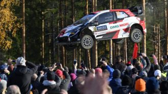 Career high for Evans in Finland: a feel-good swansong for WRC beasts