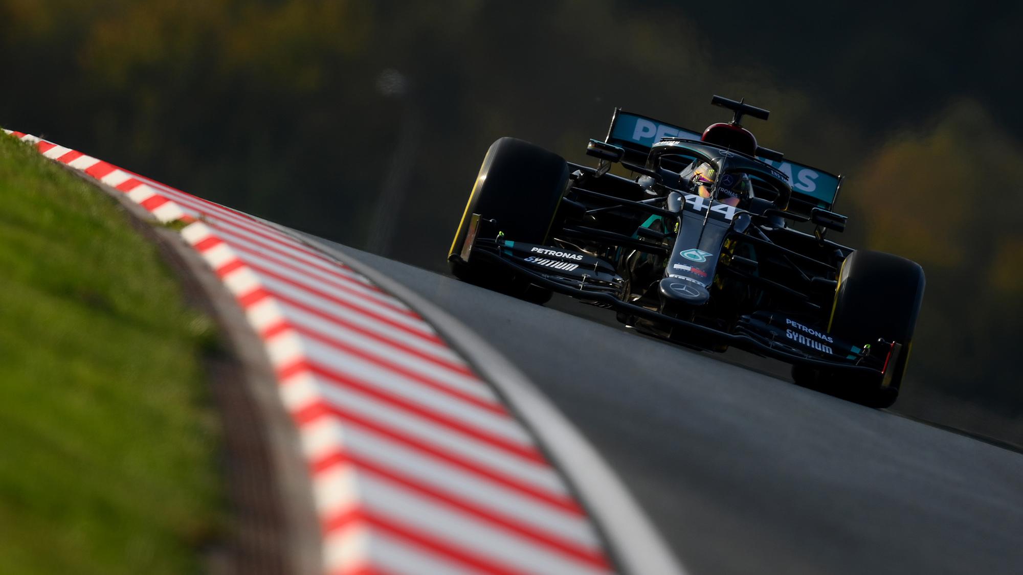 Lewis Hamilton at istanbul Park