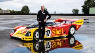Hans-Joachim Stuck reunited with iconic Shell Porsche 962 C