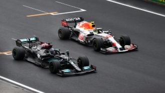 Formula 1's TV graphic balancing act