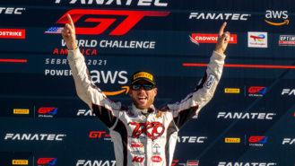 Memo Gidley's winning comeback after horrific Daytona crash
