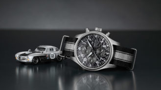 The £9k Hot Wheels watch from IWC — with diecast model included