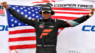 Where is the next Black racing driver coming from?