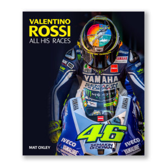Product image for VALENTINO ROSSI: ALL HIS RACES | By Mat Oxley | Book | Hardback