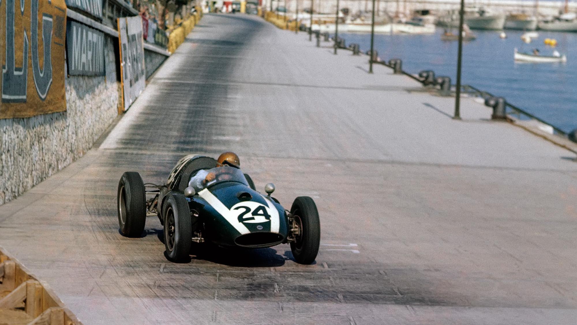 1959 Monaco Grand Prix Jack Brabham