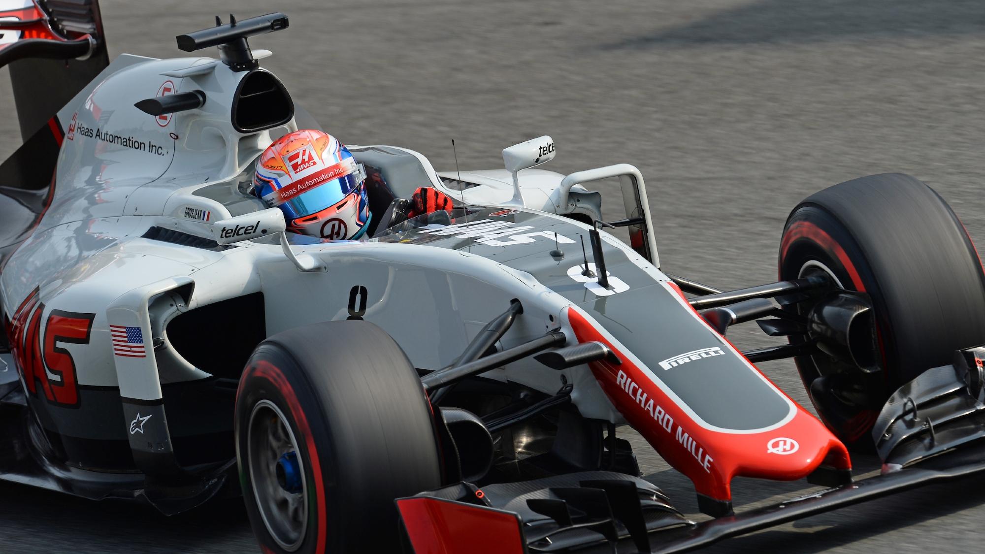 Romain Grosjean, Haas 2016