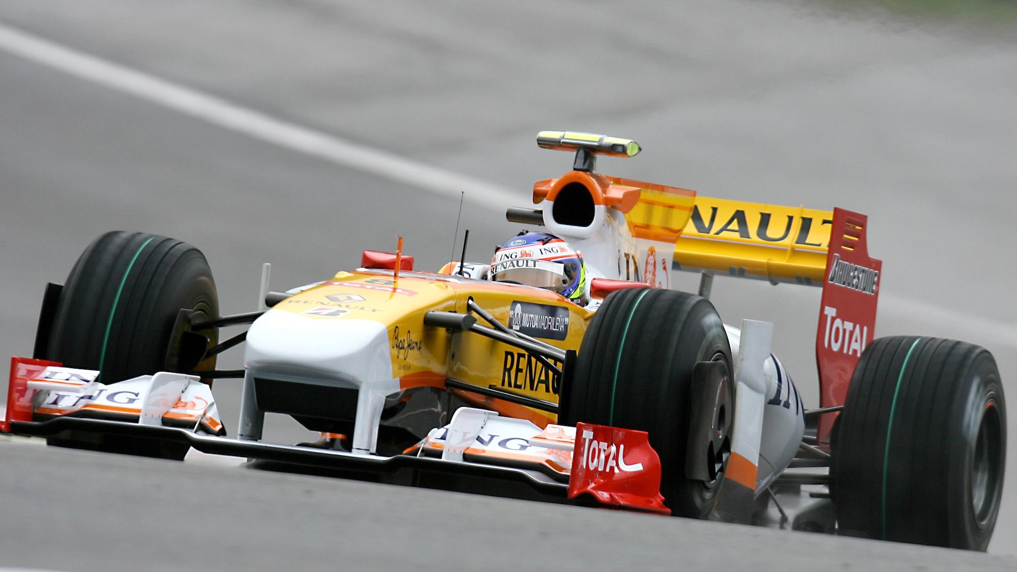 Romain Grosjean, 2009 Belgian GP
